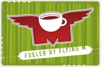 Flying M Coffee Logo